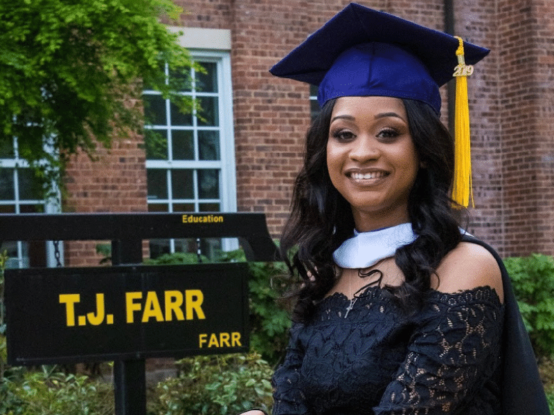 A Q&A with Jazelyn Hogg '13